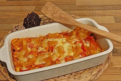 Cremiger Nudelauflauf mit Tomaten und Mozzarella 48