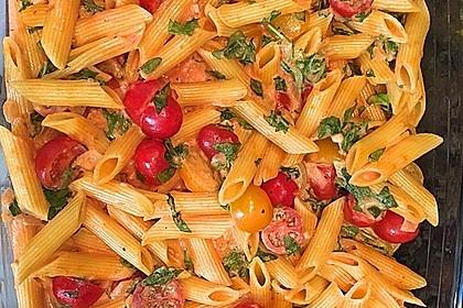 Cremiger Nudelauflauf mit Tomaten und Mozzarella 24