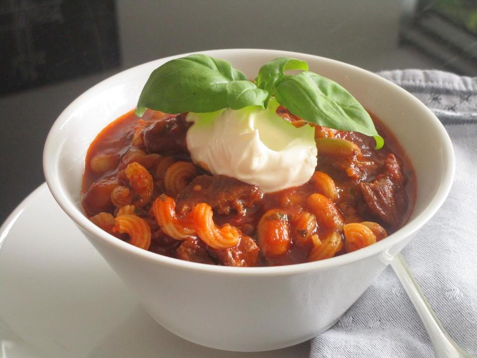 Ungarische gulaschsuppe von lianehomann for Ungarische gulaschsuppe