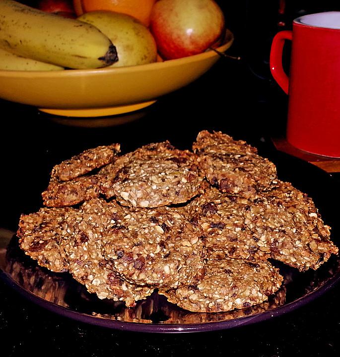 Vegane musli kekse rezept