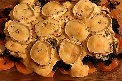 Spinat-Süßkartoffel-Auflauf mit Ziegenkäse 19