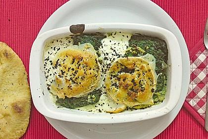 Spinat-Süßkartoffel-Auflauf mit Ziegenkäse 5