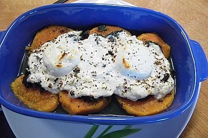 Spinat-Süßkartoffel-Auflauf mit Ziegenkäse 22
