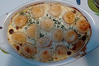 Spinat-Süßkartoffel-Auflauf mit Ziegenkäse 18
