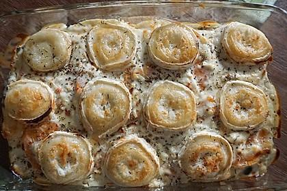 Spinat-Süßkartoffel-Auflauf mit Ziegenkäse 16