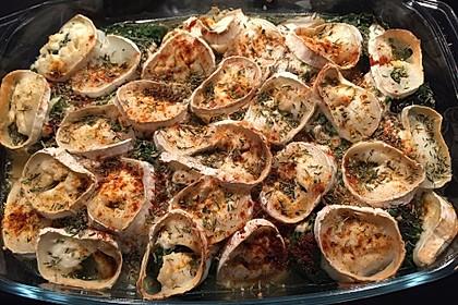 Spinat-Süßkartoffel-Auflauf mit Ziegenkäse 26