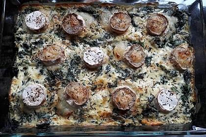 Spinat-Süßkartoffel-Auflauf mit Ziegenkäse 33