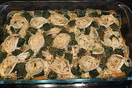 Spinat-Süßkartoffel-Auflauf mit Ziegenkäse 35