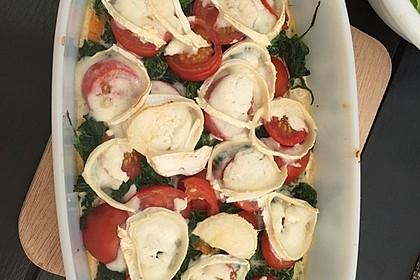Spinat-Süßkartoffel-Auflauf mit Ziegenkäse 32