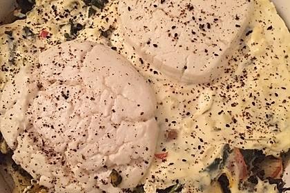 Spinat-Süßkartoffel-Auflauf mit Ziegenkäse 23