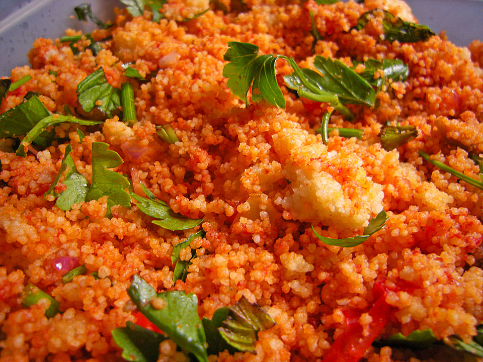 Couscous salat pfefferminze