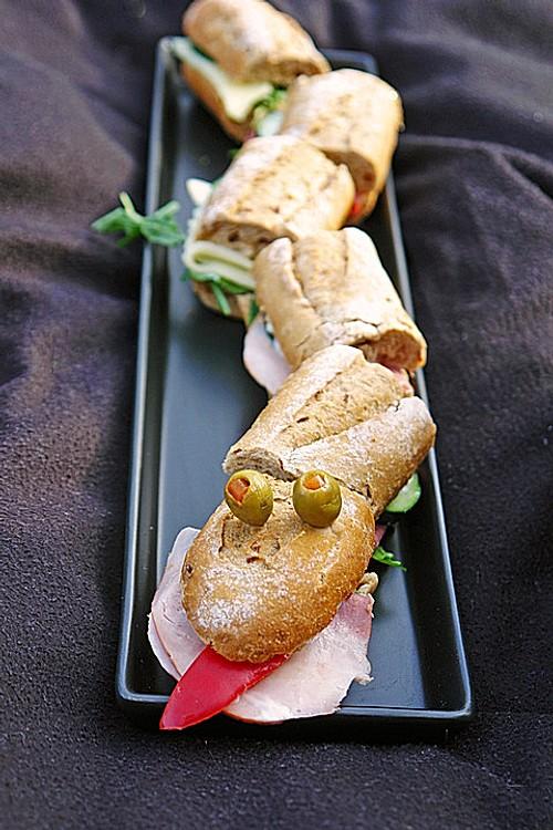 baguette schlange rezept mit bild von moosmutzel311. Black Bedroom Furniture Sets. Home Design Ideas