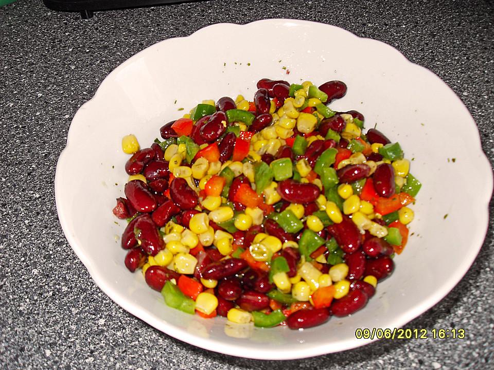 kidneybohnen paprika salat rezepte. Black Bedroom Furniture Sets. Home Design Ideas