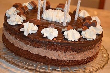 Kinderschokolade-Torte 2