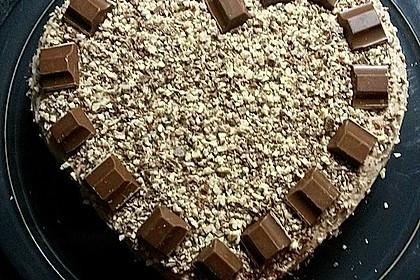 Kinderschokolade-Torte 9