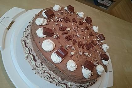 Kinderschokolade-Torte 18