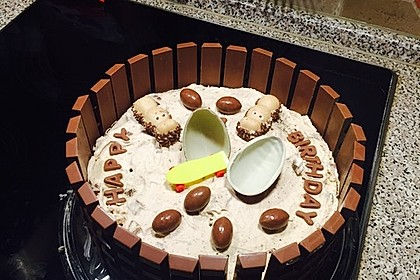 Kinderschokolade-Torte 30