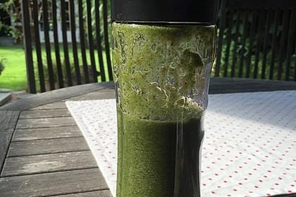 Grüner Spinat-Pfirsich-Smoothie 7