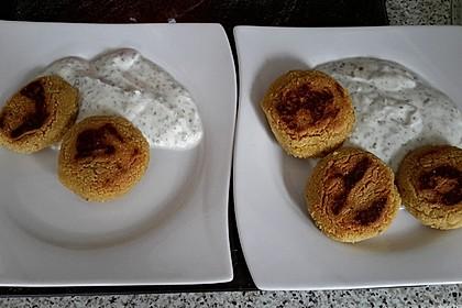 Schnelle Falafel aus Kichererbsenmehl 12