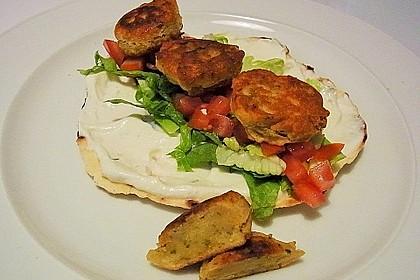 Schnelle Falafel aus Kichererbsenmehl 2