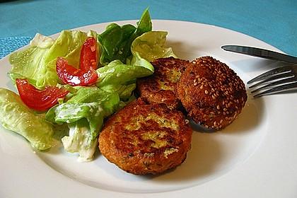 Schnelle Falafel aus Kichererbsenmehl 1