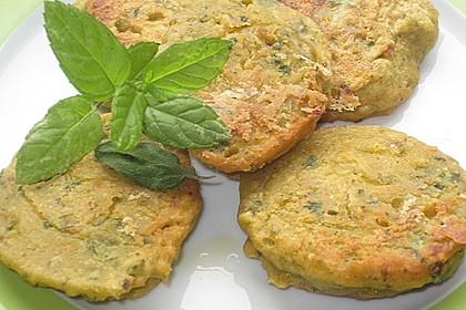 Schnelle Falafel aus Kichererbsenmehl 7