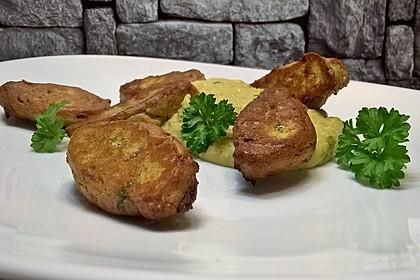 Schnelle Falafel aus Kichererbsenmehl 4