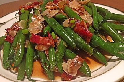Grüne Bohnen mit braunem Zucker und weißem Balsamico 2