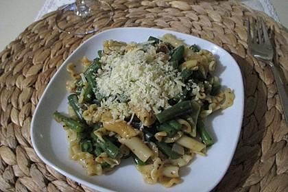 Grüne Bohnen Pasta (Bild)