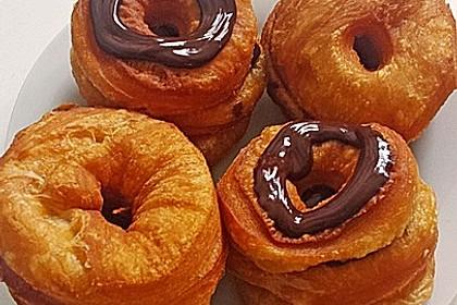 Cronuts mit Vanillefüllung 3