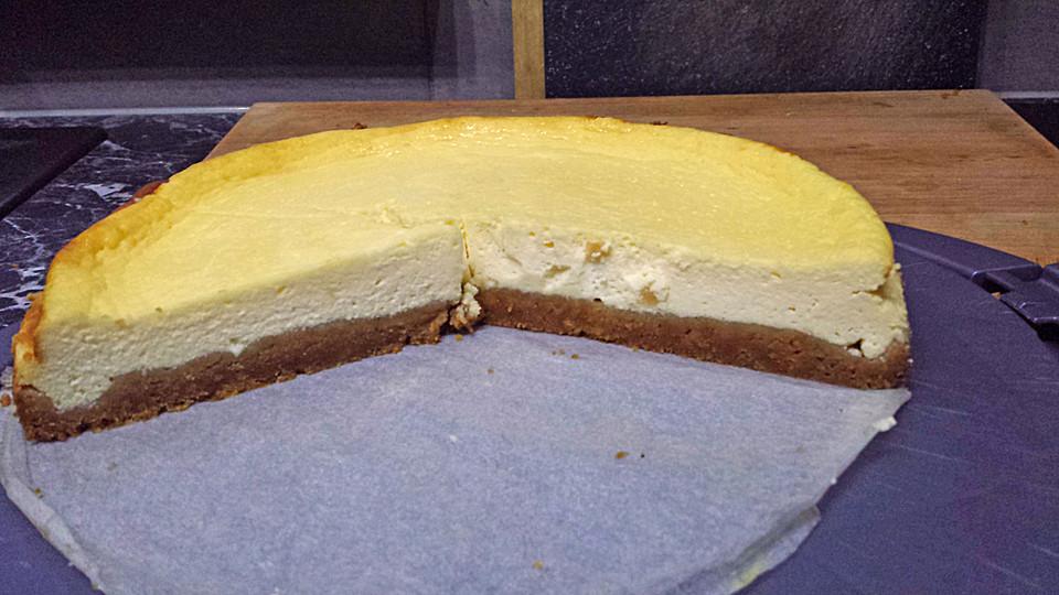 vanille american cheesecake rezept mit bild von romaa. Black Bedroom Furniture Sets. Home Design Ideas