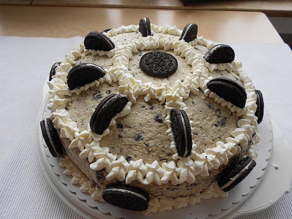 Oreo Torte Mit Buttercreme Rezepte Chefkoch De