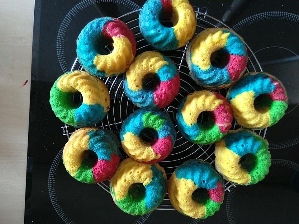 schnelle rainbow muffins von schleckermaus95. Black Bedroom Furniture Sets. Home Design Ideas
