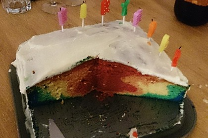 Regenbogen-Kuchen 7