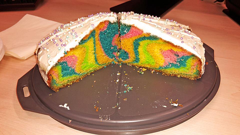 Regenbogen-Kuchen von Schleckermaus95 | Chefkoch.de
