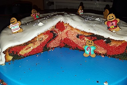 Regenbogen-Kuchen 1