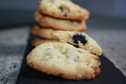 Cranberry White Chocolate Cookies 13
