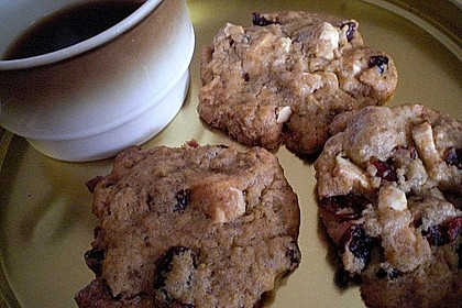 Cranberry White Chocolate Cookies 41