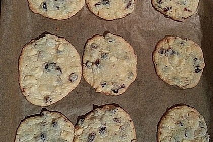 Cranberry White Chocolate Cookies 45