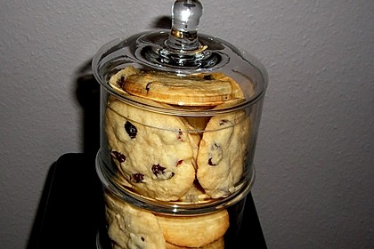 Cranberry White Chocolate Cookies 9