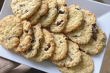 Cranberry White Chocolate Cookies 8