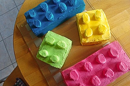 Lego-Zitronenkuchen