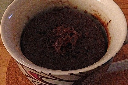 3 Minuten Nutella Mugcake 29