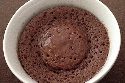 3 Minuten Nutella Mugcake 9