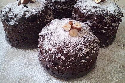 3 Minuten Nutella Mugcake 5