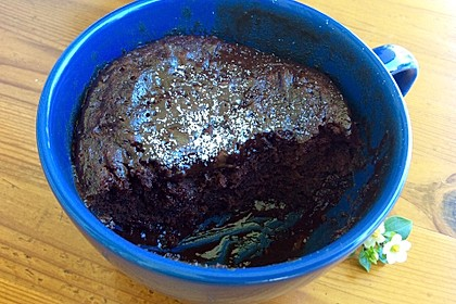 3 Minuten Nutella Mugcake 17