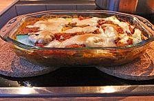 Vegane Rübstiel-Lasagne mit Zucchininudeln