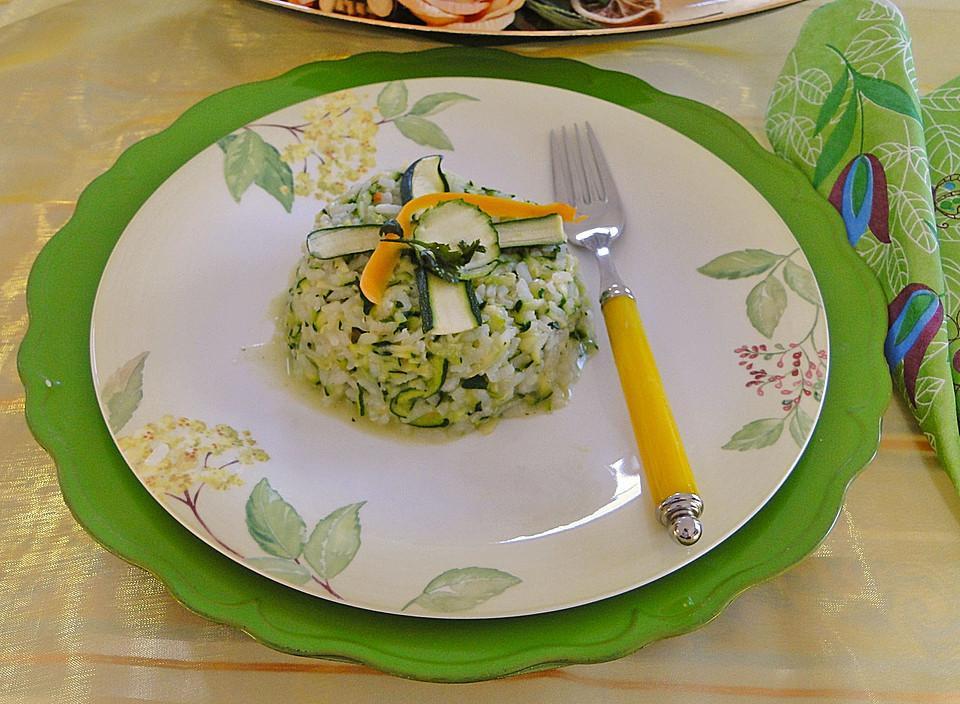 Zucchini-Risotto (Rezept mit Bild) von schaech001 | Chefkoch.de
