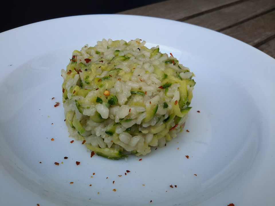 zucchini risotto thermomix