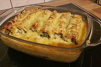 Cannelloni mit Brokkoli-Champignon-Füllung 3